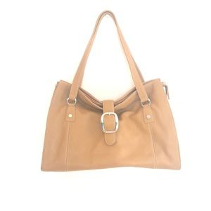 FRANCO SARTO Leather Stone Tote satchel Bag